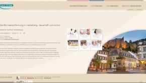 Sanfte, dauerhafte Haarentfernung ist in Heidelberg Profisache.
